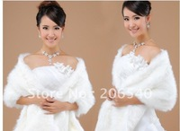 Marriage gauze dress white/red shawl warm wholesale bride wool shawls