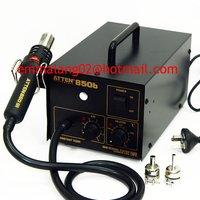 DHL Free Shipping! 220V ATTEN hot air gun 850b, heat gun, welding gun, lead free, anti static ESD safe, BGA rework station