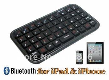 Free shipping Slim Mini Wireless Bluetooth Keyboard For iPad 2 iPhone 4G 4S PS3 PC PDA 8373