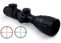 2-6x32 Red Green Illuminated Mil Dot AO Rifle Scope free ship