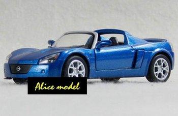 [Alice model]1:36 Blue Opel Speedster Turbo Sports Super Luxury racing cars alloy metal bus sedan truck jeep models