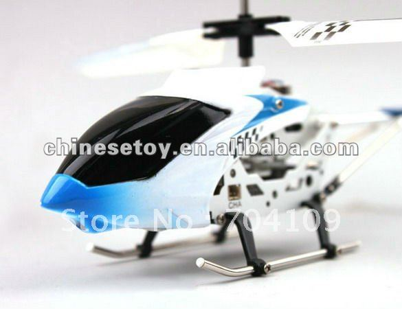 free shipping 2.4Ghz 3.5ch alloy gyro fast reaction remote control helicopter(China (Mainland))