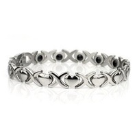 2012 Beautiful Heart Titanium Magnetic Bracelet &free shipping