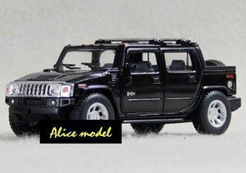 [Alice model]1:40 Black Hummer H2 SUTSports Super Luxury racing cars alloy metal bus sedan truck jeep models