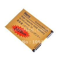 Wholesale - HOT!!! 2430mAh High-Capacity Gold Battery for HTC Hero G3
