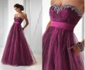 Lose Sales Promotion 2012 Best Selling Custom Made Empire Organza Formal Prom / Party / Evening Dress