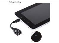 20pcs  New arrival Capacitive Screen 7 inch  Android 4.0  512MB/ 4GB XWD708 Tablet PC  Free shipping pretty