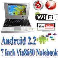 Нетбуки и ПК 7/android 2.2 VIA8650 /wifi netbook + 10 DHL