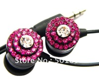 SB-EB011 crystal colorful fashionable gift promotion original MP3/MP4 stereo mini portable3.5mmearphone
