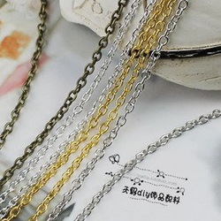 20M/lot 1.6MM/w (Bronze/Silver/Gold/Nickel ^^) Metal Chains Jewelry O Shape Chain Jewelry Findings & Components(China (Mainland))