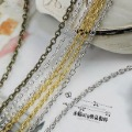 20M/lot 1.6MM/w (Bronze/Silver/Gold/Nickel ^^) Metal Chains Jewelry O Shape Chain Jewelry Findings &amp; Components