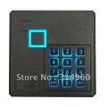External Security Door RFID 125KHz Card Reader Waterproof Wiegand 26 With keypad Free Shipping