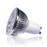 100PCS/LOT 110V-240V gu10 4w led lamp/led spot lamp gu10 4x1w warm white/day white light bulb EMS FREE+HIGH QUALITY