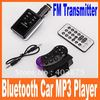 Bluetooth Car MP3 Player Kit FM Transmitter USB/SD/MMC Free Shipping