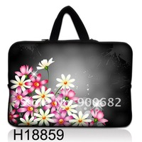 Free Shipping ! 2012 Brand New ! Many Designs Neoprene Laptop Bag Carry Sleeve Case Cover +Hide Handle