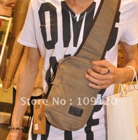 Free shipping 2013 Hot sale Men travelling Leisure bag canvas Shoulder Commuter bags