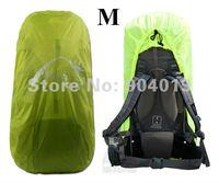 Portable Backpack Rain Cover waterproof Bag Cover Water Resist Green M 40-50L