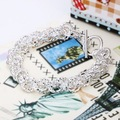 H240 factory price fashion 925 silver bracelet jewellry silver round shape link chain jewelry