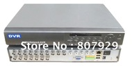 8CH H.264 real-time high compression network CCTV DVR,CIF Resolusion,realtime D1 preview