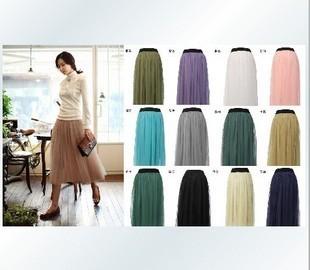 ���� �������� ����� 2014 ������ Chiffon-long-skirt-pleated-full-women-dress-bust-skirts-summer-women-s-chiffon-lace-full-dress.jpg