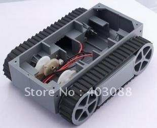 Smart car chassis / tank track / high-power tracking car / tracing obstacle avoidance / RP5 Chassis / send the CD-ROM(China (Mainland))