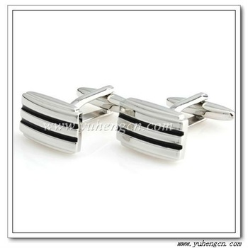 Free Shipping ! YH-1252  Elegant Enamel Men's Cufflinks -Factory Direct Selling