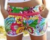 1PC free shipping, Retail & Wholesale floral printed hot shorts S/M/L, beach shorts, fashion shorts...