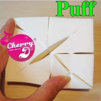 Wholesale New Make-up Artist Puff Eight Cut Puff Free Shipping/Drop shipping