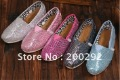 Wholesale 2012 canvas shoes  sequined men and women shoes, -#1