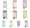 10 Colors Glass Clear Back Rear Battery Cover Case for iPhone 4GS Free Shipping With gift