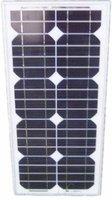 Factory Supply 20W monocrystalline solar panel /solar module for 12v battery
