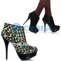 2012 Vogue Lady Platform High Heels Pumps Ankle Booties Shoes 2 Colors