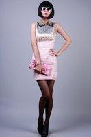 Women's top grade silk dress temperament dinner dress,party dress,  FREE SHIPPING!!!