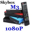 Free Shipping Skybox M3 sky box M3 mini Satellite receiver Full HD 1080P DVB-S DVB-S2 MPEG4 PVR CCCAM Post Free Shipping 3pcs