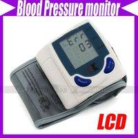 Digital Wrist Blood Pressure Monitor, Heart Beat Meter, with LCD Display and 60 memories #3262