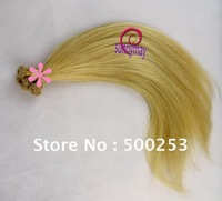 Straight Virgin Indian Human Hair Hanf Tied Weft