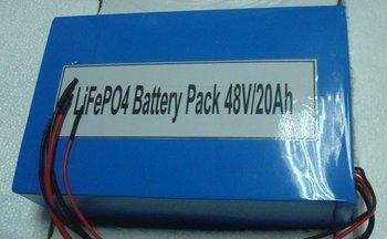 48V 20Ah LiFePo4 Rechargeable Ebike Battery