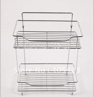 Storage rack,Wall hanging,Housewear,Combination,Bathroom shelf,Cosmetics,Stainless steel,1pc