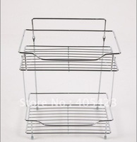 free shipping! Storage rack,Wall hanging,Housewear,Combination,Bathroom shelf,Cosmetics,Stainless steel,1pc