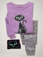 wholesale cheap kids pajamas with printed a black cat 6pics/lot free shipping wrc013