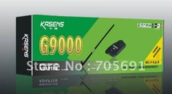 Free shipping New Kasens KS-G9000 3070 chipst 18db 6000mW high power wireless usb adapter wifi adapter(China (Mainland))