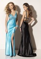 Free Shipping Sexy deep V-neck Rhinestones 100% guaranteed safe and quality  Homecoming prom dress