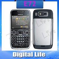 E72 Original Nokia E72 3G WIFI GPS 3G 5MP Unlocked Mobile Phone Free Shipping