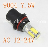 Wholesale 9004 HB1 7.5W AC 12V-24V Car LED SMD Light Auto Fog Lamp Fog Light 9004(HB1) 9005(HB3) 9006(HB4) 9007(HB5)