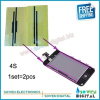 for iphone 4s LCD display screen anti-static shielded cushion sticker original new  Free shipping,20pcs/lot