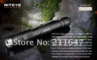 NITEYE EYE12 torch CREE XML U2 LED 300 lumen light to magnetron home Flashlight (2 * AA)