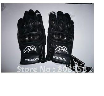 Free Shipping Worldwide Berik G 4979 Motorcycle leather gloves black L GENUINE