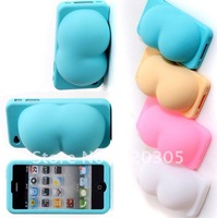 Ass Breast Case Back Cover Case for iphone 4 4S 4g with retail package