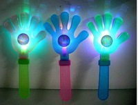 100pcs/lot  The Olympic Games 28 CM 7 colour flash clap the fluorescent light clap your hands clapping pat