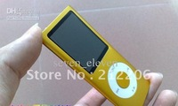 wholesale DHL Free shipping  Nice  20pcs 16GB1.8 inch  4th 4Gen MP3 MP4 player 1.8 inch screen FM radio recording function